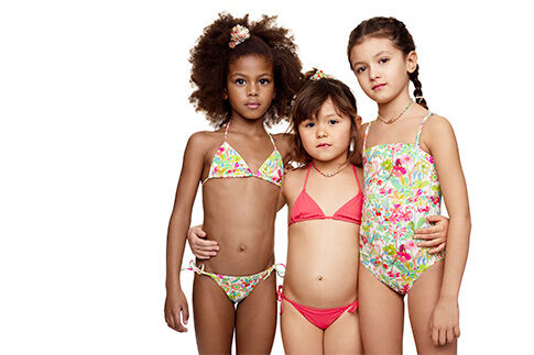 collection maillot de bain femme et enfant eres x bonpoint