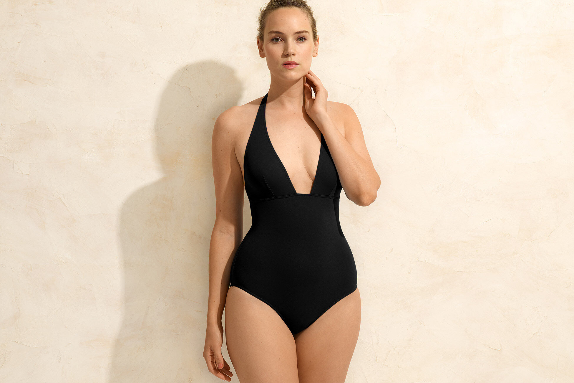 Lupin Triangle one-piece standard view �