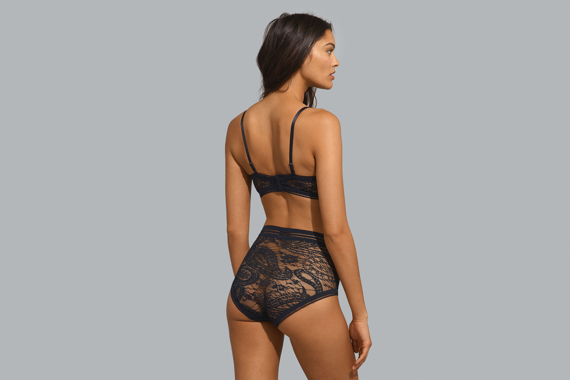 Gingembre High-waisted briefs standard view �