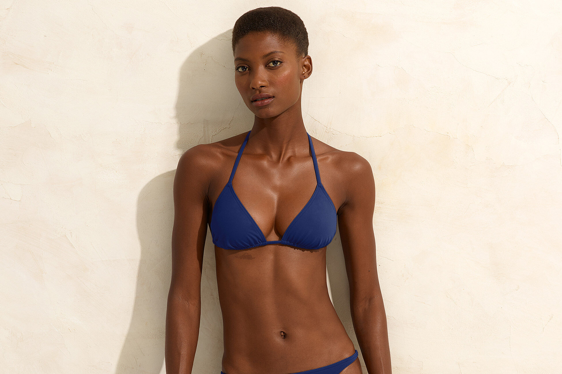 Mouna Small triangle bikini top standard view �