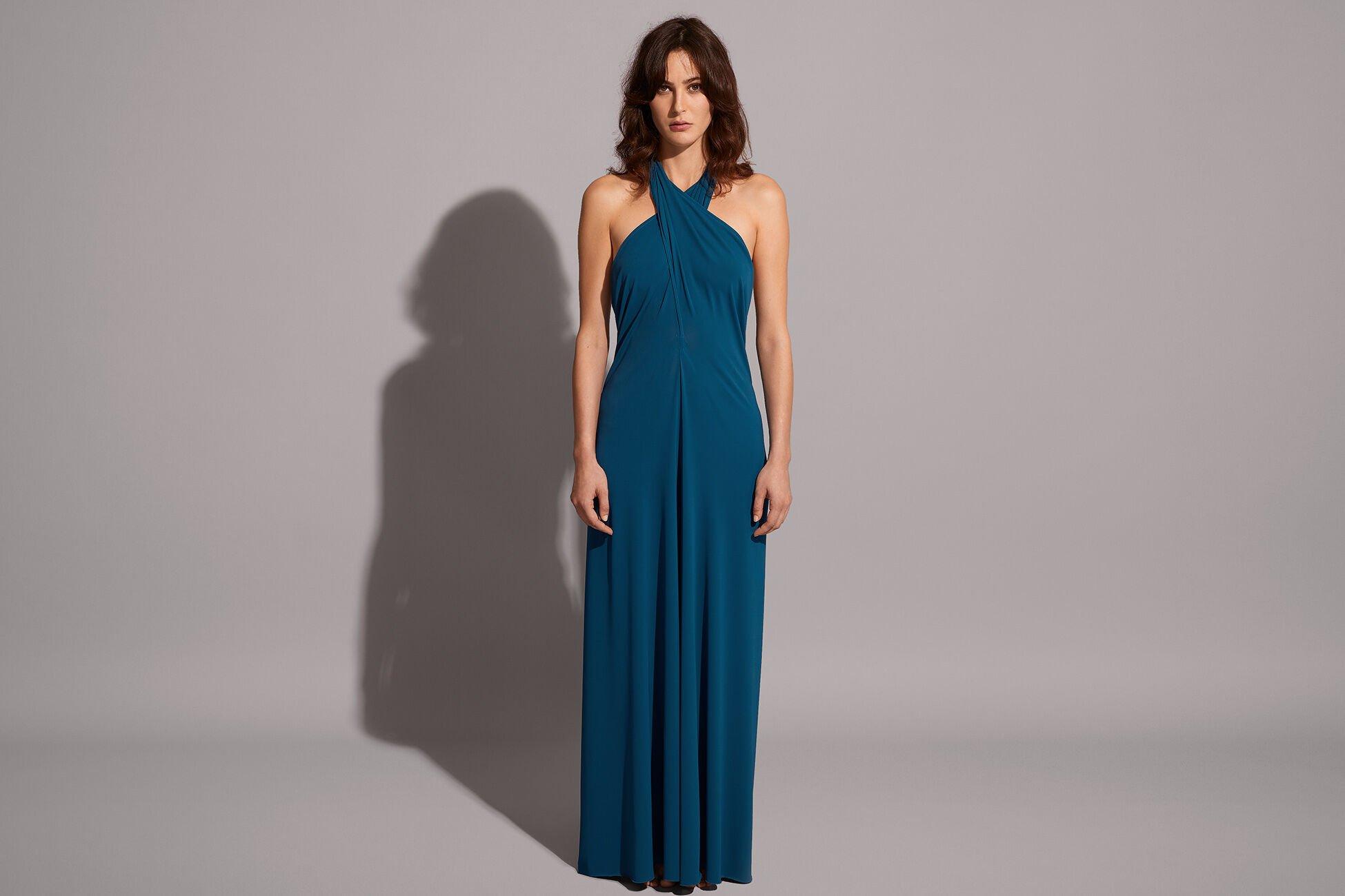Caro Langes Kleid Standardansicht �