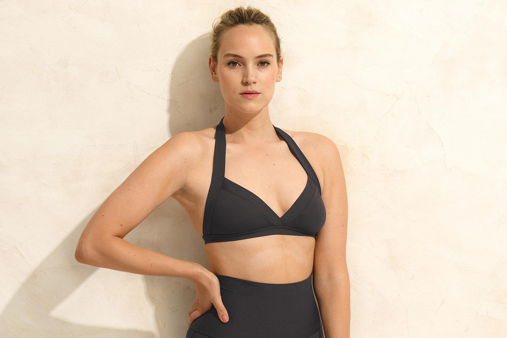 Vedette Full-cup triangle bikini top standard view �