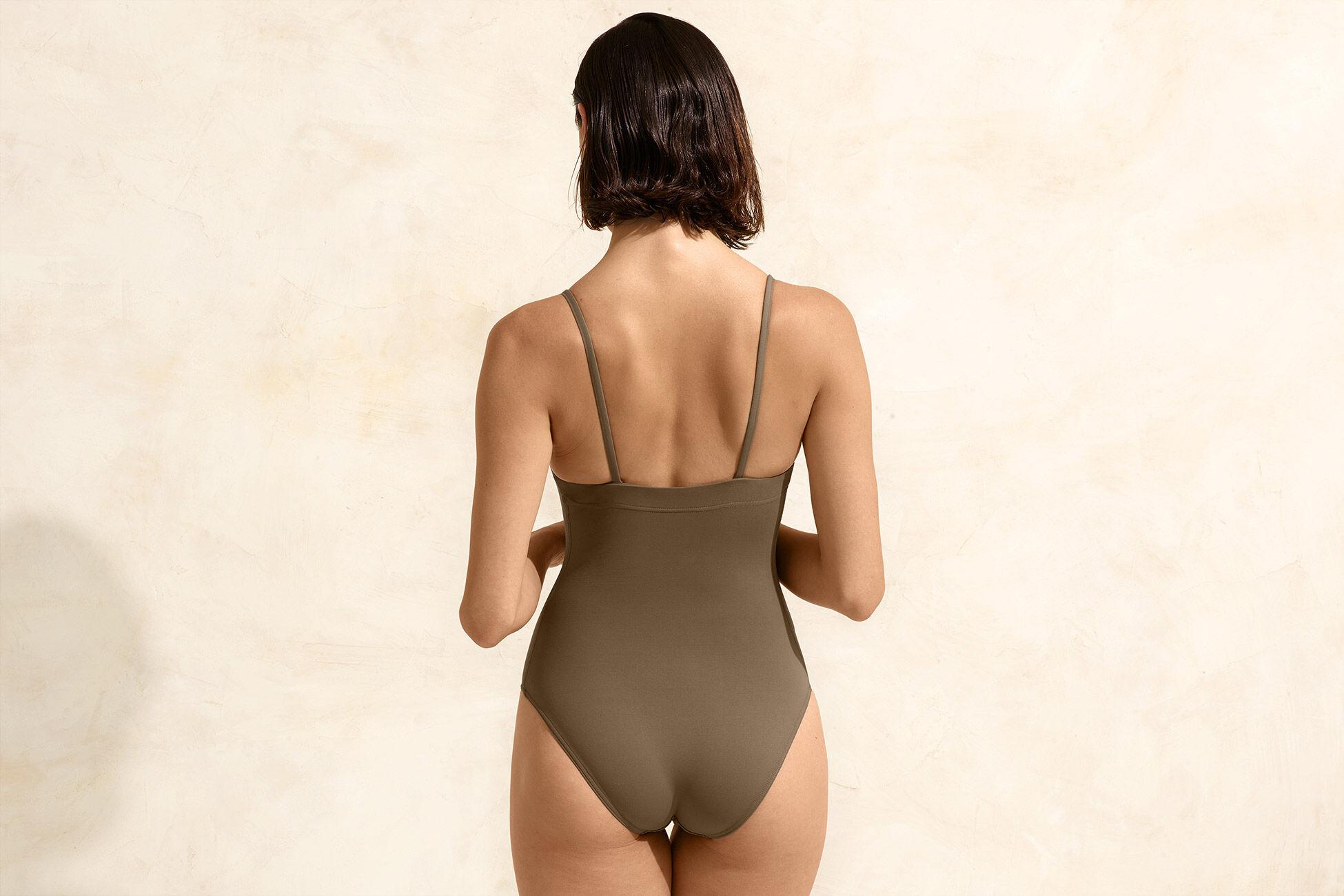 Aquarelle Badeanzug Standardansicht �