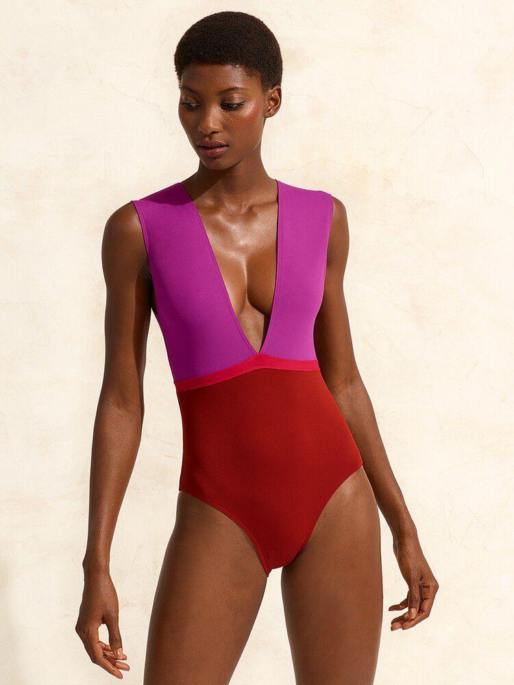 Ambera Costa Rica-DRESS/CHERRY/GINGER