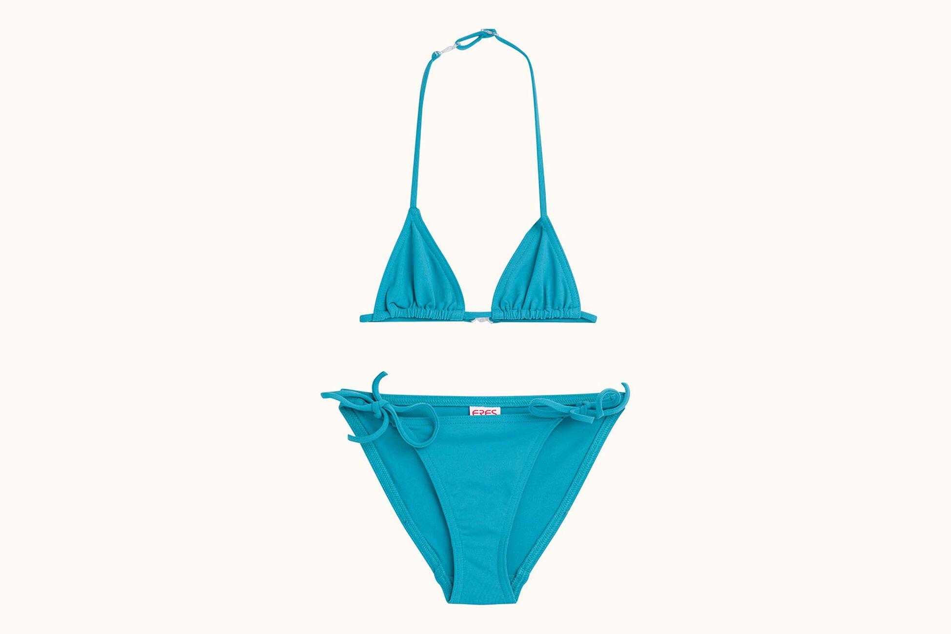 Mouna Malou de niña Conjunto de bikini triángulo Vista estándar NaN