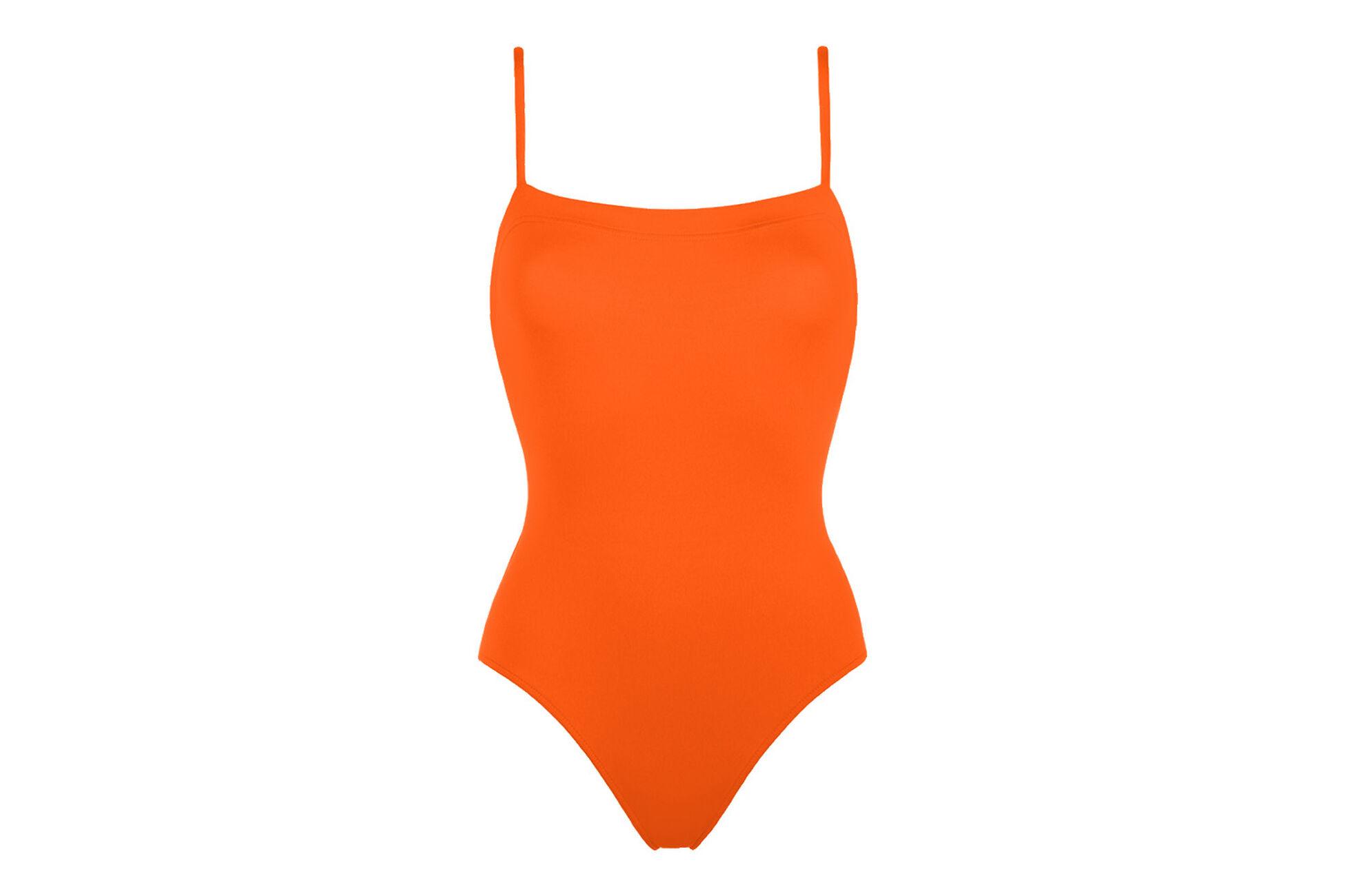 Aquarelle Une-pièce nageur vue standard �