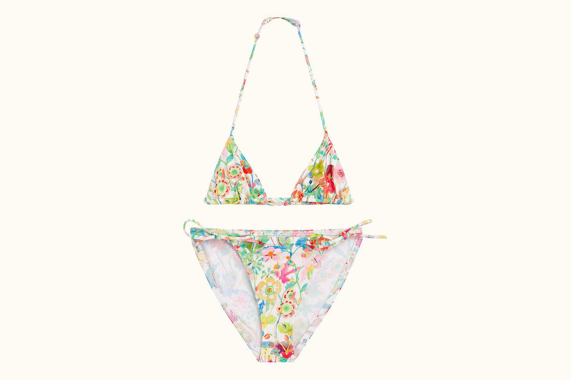 Kid Mouna Malou  Triangle bikini top and bottom standard view �