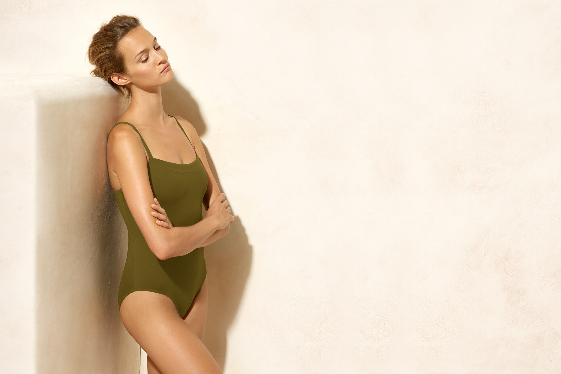 Aquarelle Tank one-piece standard view �