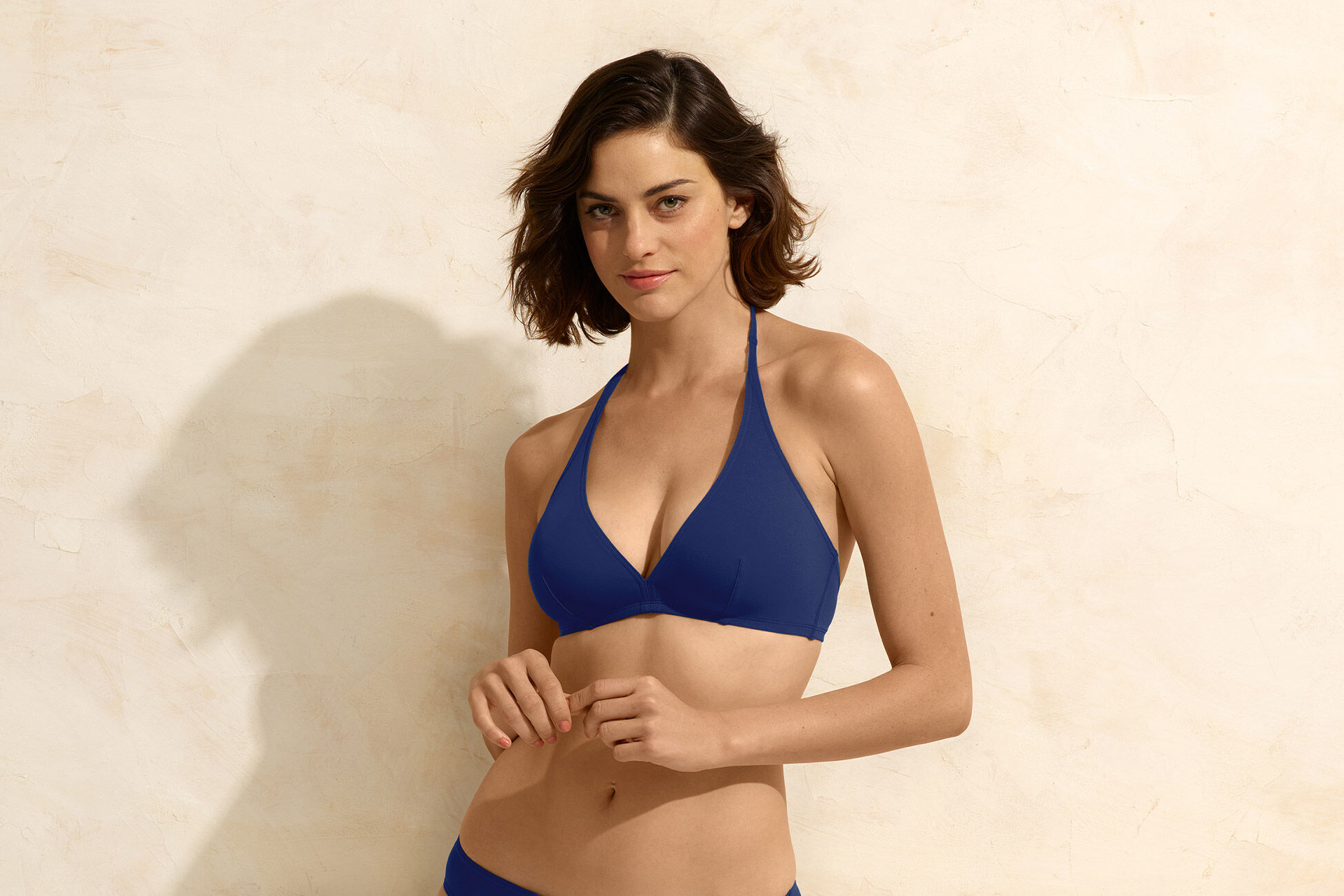 Gang Full-cup triangle bikini top standard view �