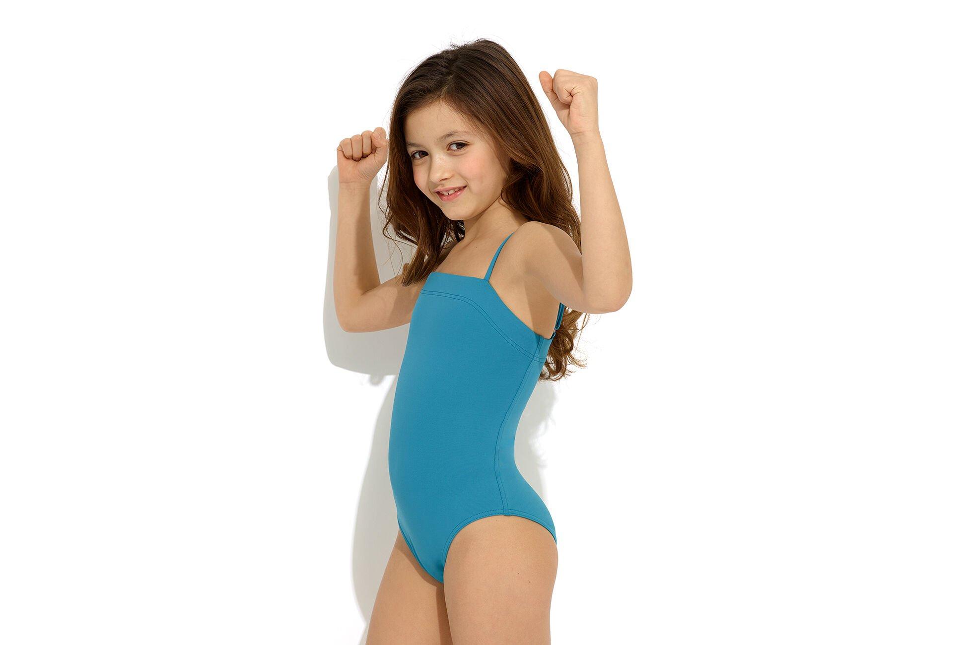 Aquarelle para niña Bañador Vista estándar NaN