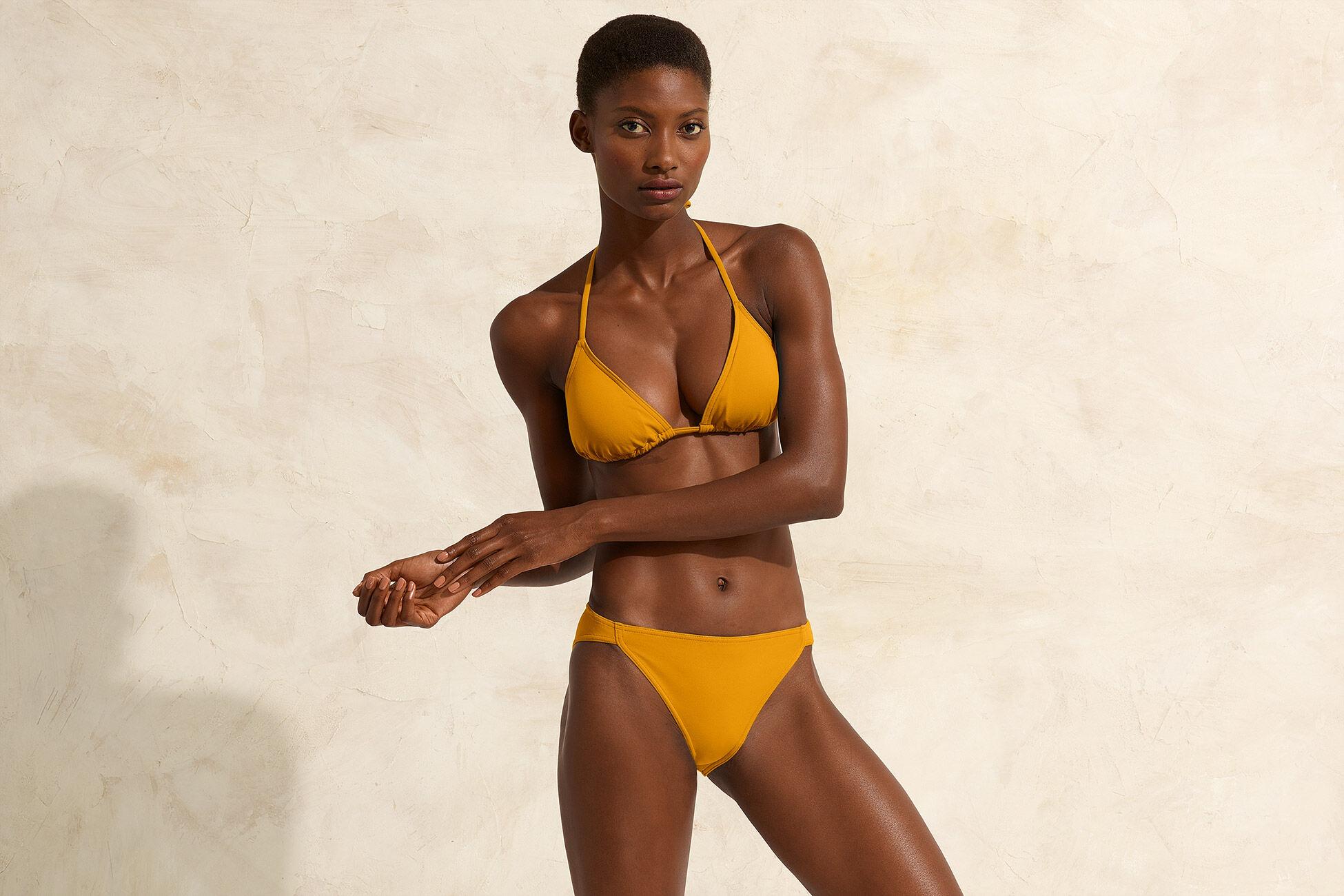 Bonnie Small triangle bikini top standard view �