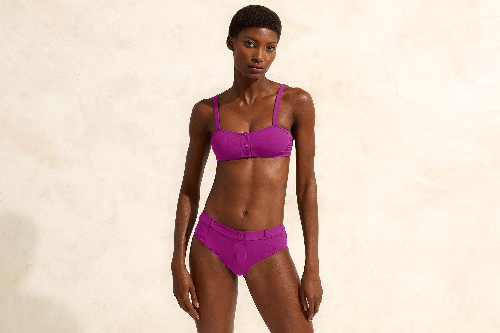 Short Full coverage bikini brief standard view �