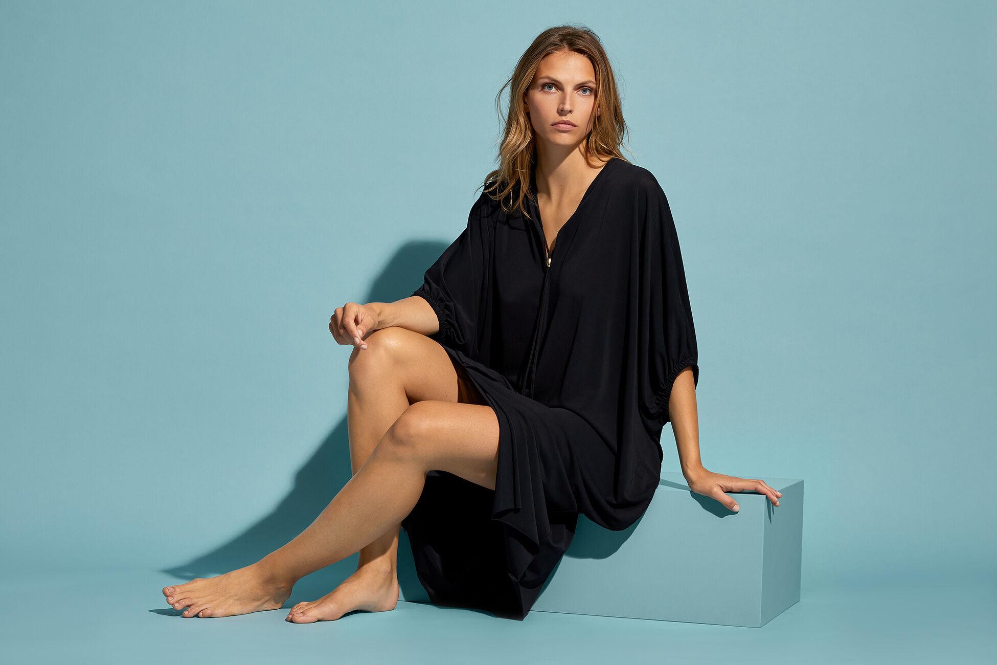 Zely Langes Kleid Standardansicht �