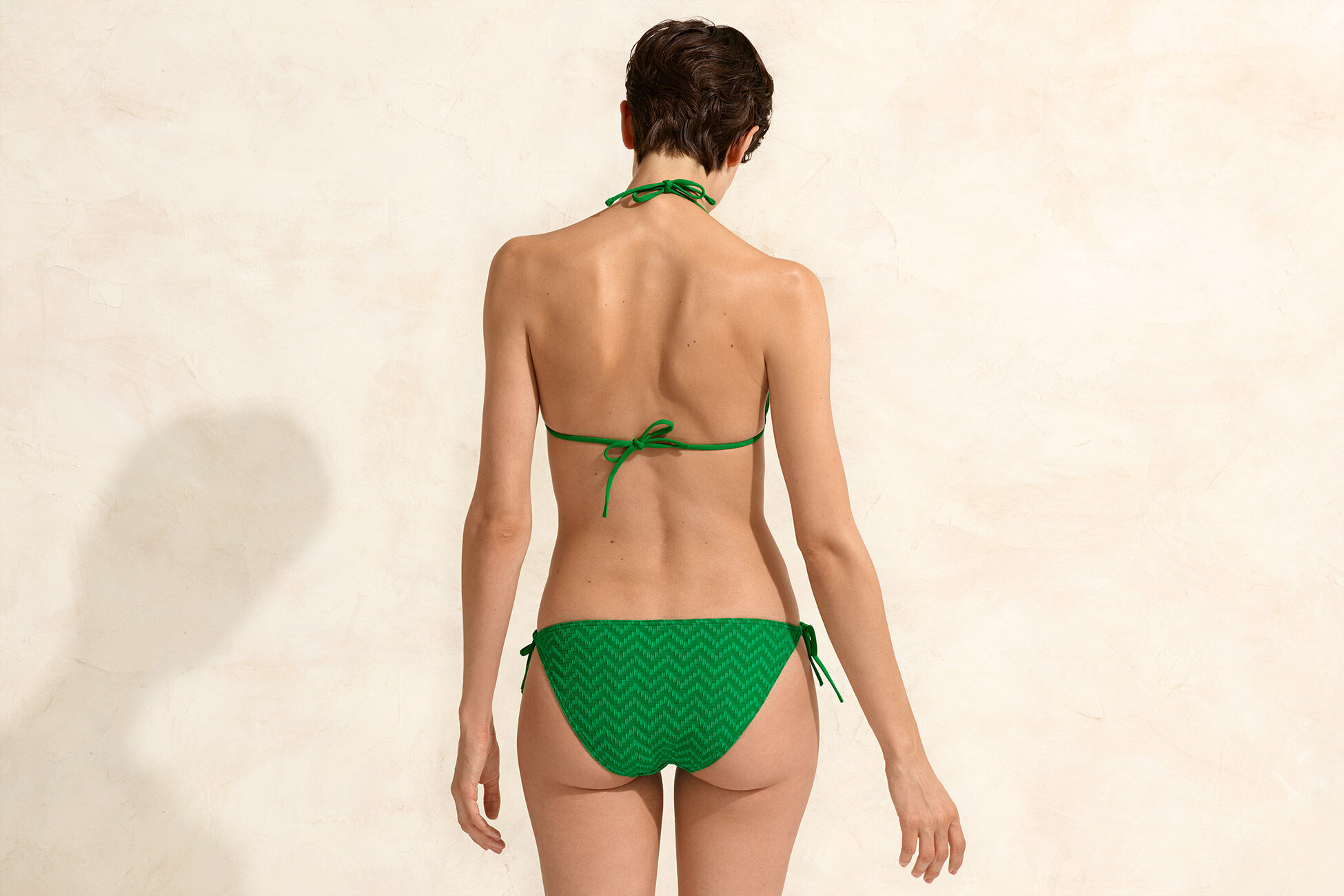 Twill Thin bikini briefs standard view �