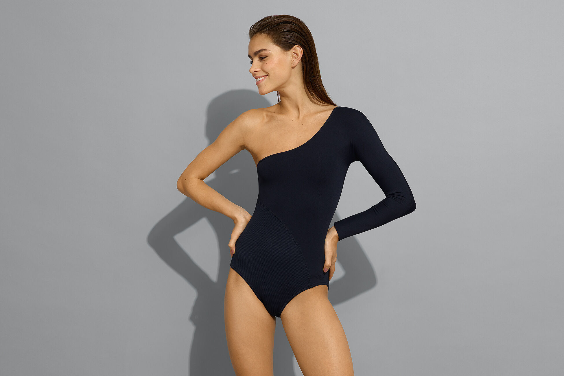 Extrem One-Shoulder-Modell Standardansicht �