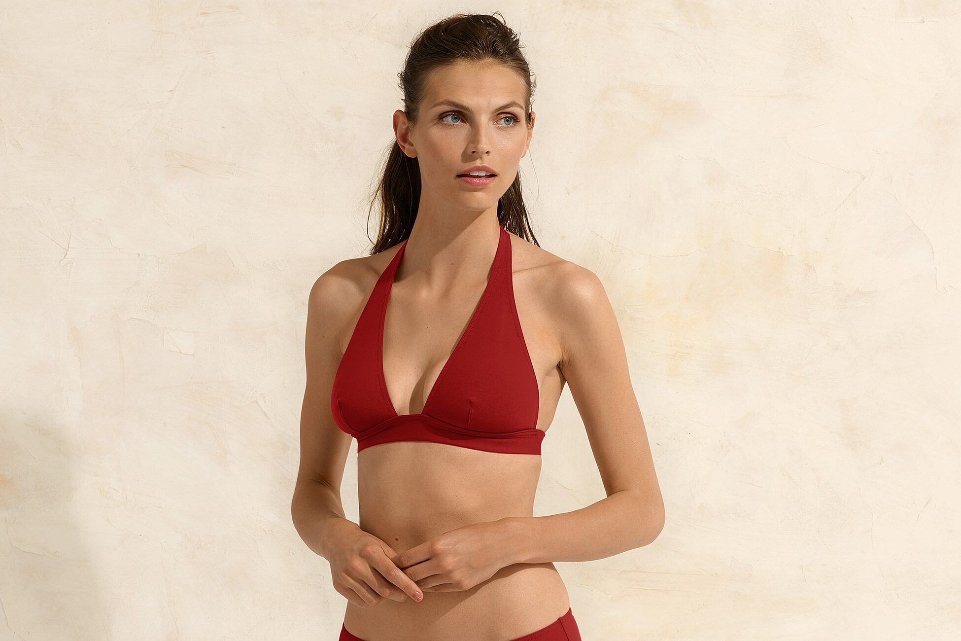 Foulard Full-cup triangle bikini top standard view �