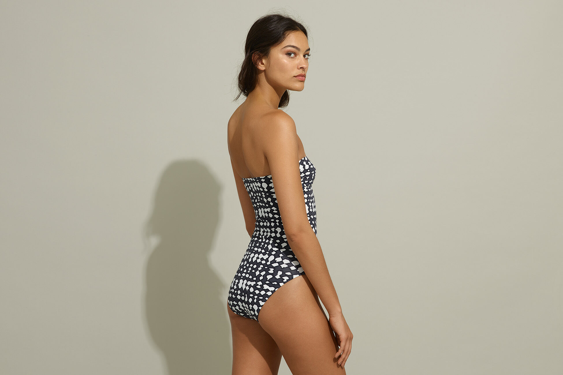 Cassiopée Bustier one-piece standard view �
