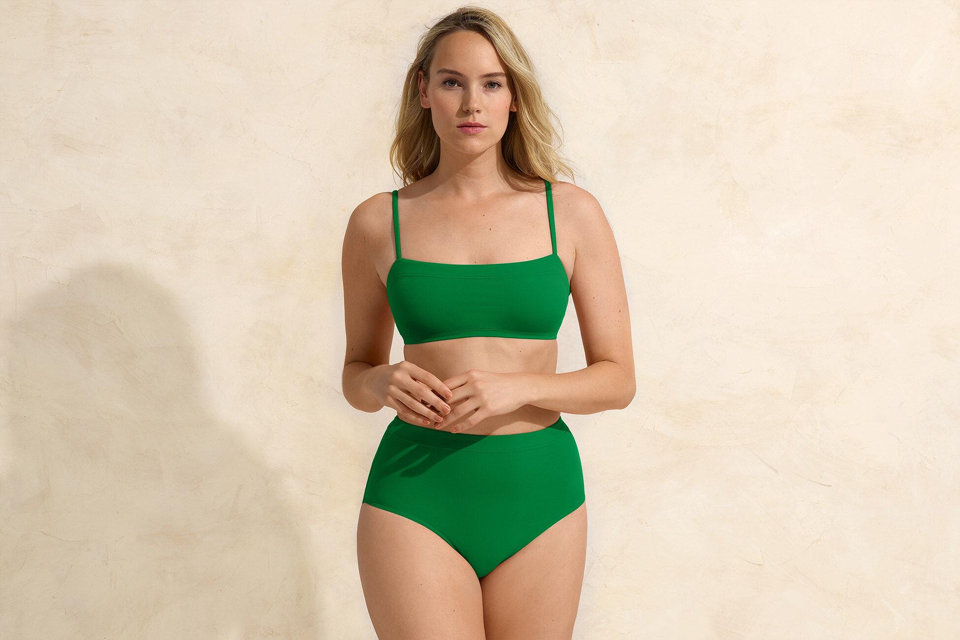 Patine Hoch geschnittene Bikinihose Standardansicht �