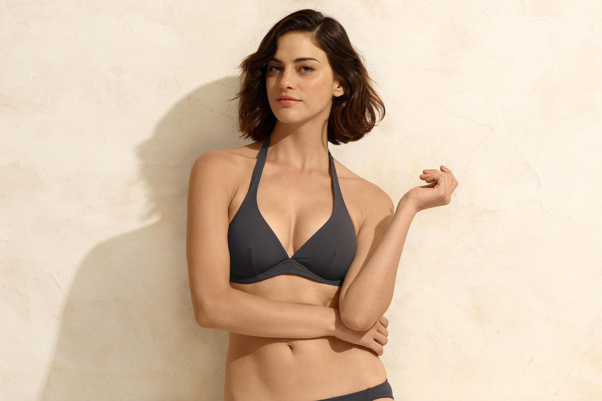 Bandito Full-cup triangle bikini top standard view �