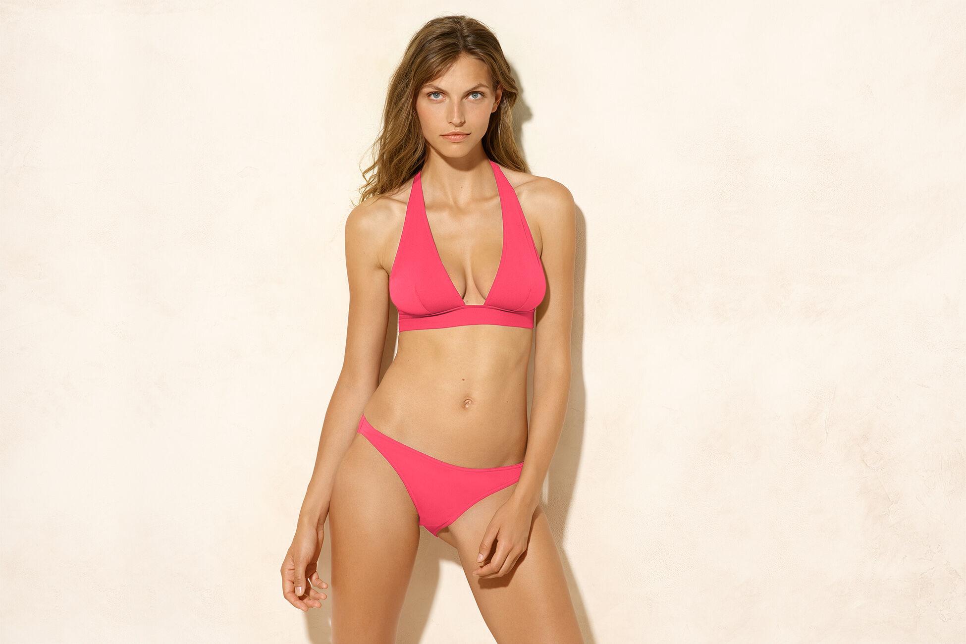 Foulard Full-cup triangle bikini top standard view �