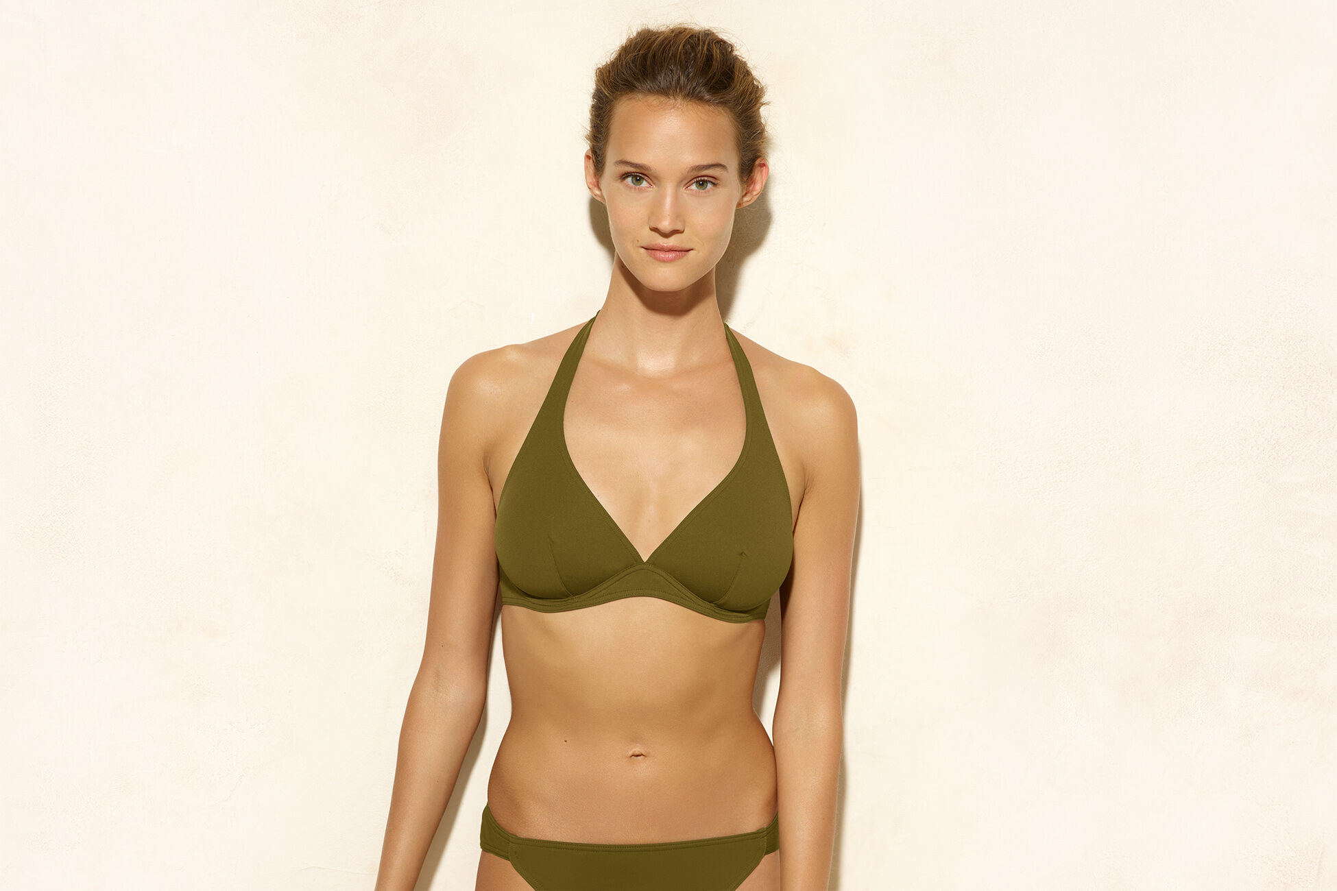 Bandito Full-cup triangle bikini top standard view �