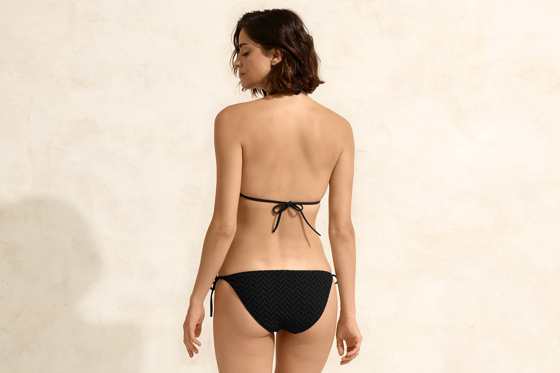 Twill Thin bikini briefs standard view 3