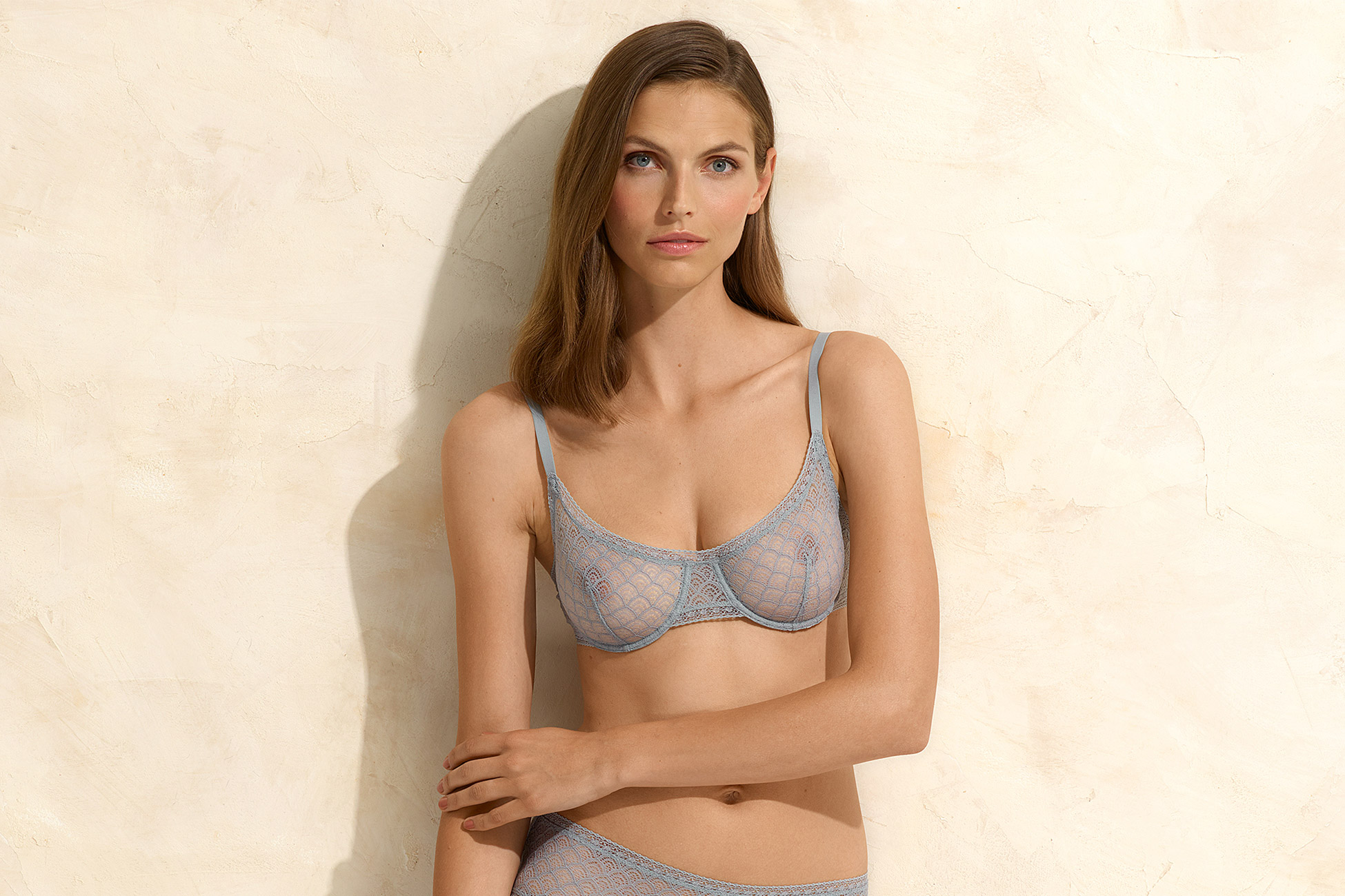 Chevron Full-cup bra standard view 1