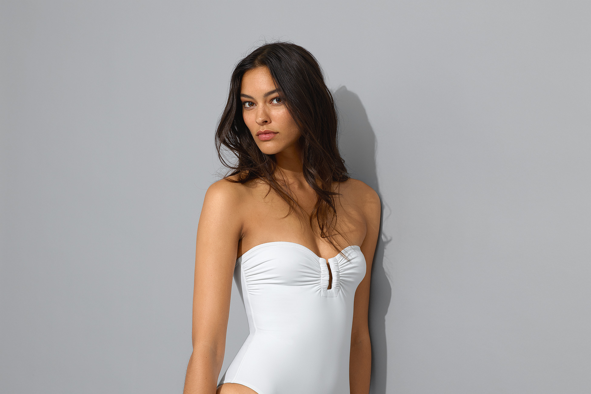 Cassiopée Bustier one-piece standard view 2