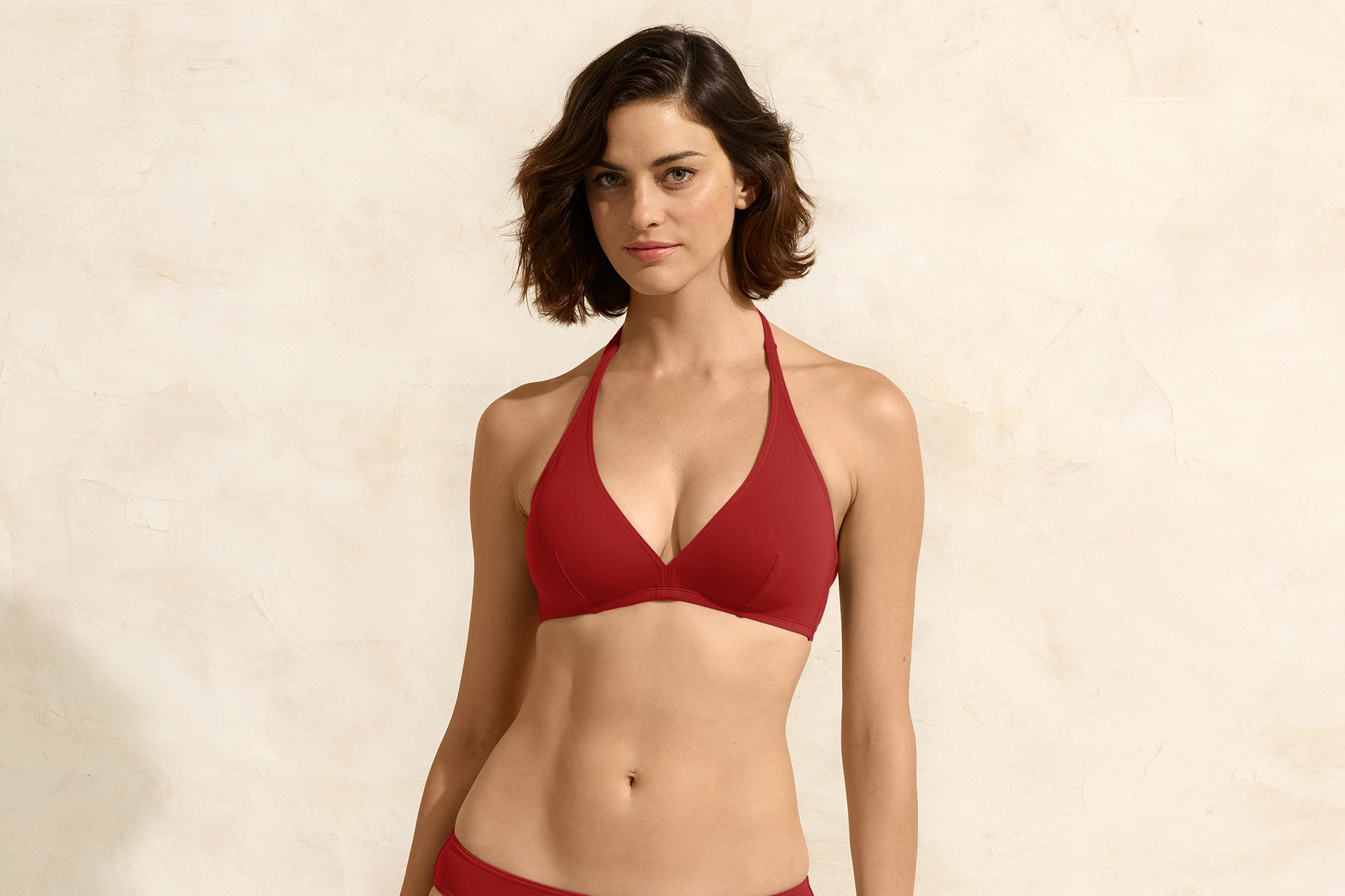 Gang Full-cup triangle bikini top standard view 1