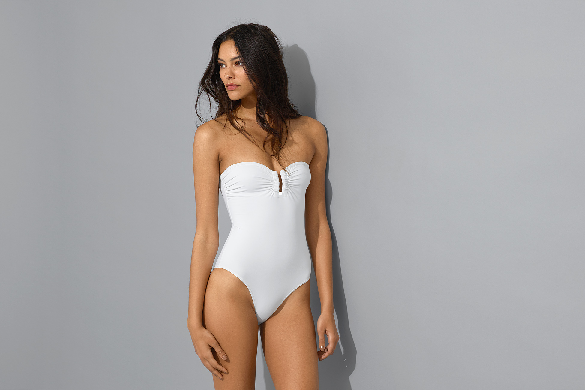 Cassiopée Bustier one-piece standard view 1
